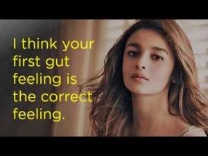Alia Bhatt Motivational Status Video