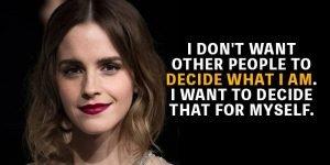 Emma Watson Motivational Status Video