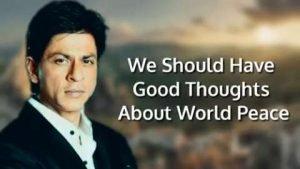 Shah Rukh Khan Motivational Status Video