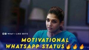 Nayanthara Motivational Whatsapp Status Video